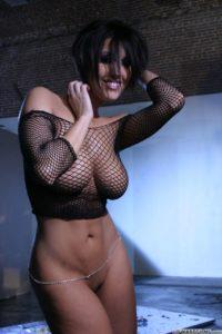 Grote borsten en sexy lingerie